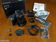 Panasonic LUMIX DMC-FZ1000 20 MP Camera, Black, 25mm-400mm Telephoto Zooom Lens