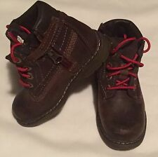 Timberland Boots Brown Toddler Sz. 6 With Extra Laces