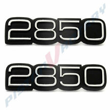 2850 Boot or Front Guard Badges x2 Chrome New for Torana LH LX Fender Holden