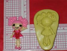 LalaLoopsy Flexible Push Mold Resin Clay Candy Food Silicone  Bookscraping A565