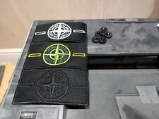 3 Stone Island Badge (1 Glow, 1 Green, 1 Ghost Black)