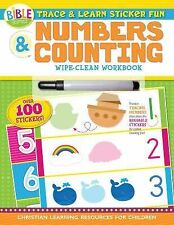 I'm Learning the Bible Activity Book: Trace and Learn Sticker Fun: Numbers...