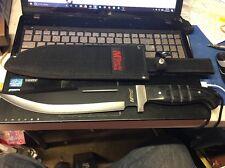 """Mtech USA 16"""" 4MM Pakkawood Handle Knife w/ Sheath  MT-20-08S *NEW*"""