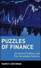 Acc, Puzzles of Finance: Six Practical Problems and Their Remarkable Solutions,
