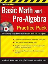 CliffsNotes Basic Math and Pre-Algebra Practice Pack with CD