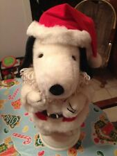 Vintage Santa's Best Holiday Animation Peanuts Snoopy Flying Ace Motionette