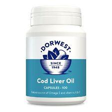 olio di fegato merluzzo Dorwest 100 Capsule, Servizio Premium, Consegna Veloce