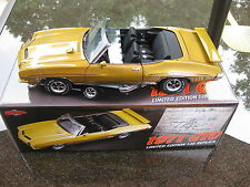 GMP 1:18 1971 PONTIAC GTO GOLD WITH BLACK INTERIOR(THE JUDGE)