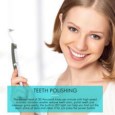 SonicTeeth Whitening Stain Eraser LED Dental Tool Kit Plaque Remover  Polisher