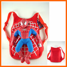CLEARANCE Spider-man Spiderman Stuffed Soft Plush Toy Doll Backpack Bag + GIFT