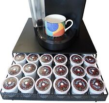 K Cup Coffee Pod Storage Drawer Holder for 36 Keurig K-Cup, Black Drawer