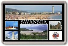 FRIDGE MAGNET - SWANSEA - Large - Wales TOURIST