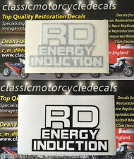 YAMAHA RD125LC MK1 SIDE PANEL DECALS