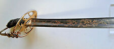 NAPOLEONIC BRITISH CAVALRY OFFICER'S  SWORD 1803 PATTERN WAR OF 1812 WATERLOO