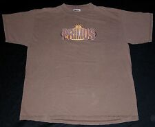 Rare Vtg 90s PRIMUS Back In Brown Promo T Shirt XL Alternative Funk Metal Band
