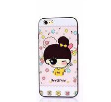 Cute Gril Victory iPhone 6 / 6s  Hee & Tree TPU case