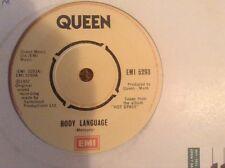 """Queen - body language , great condition uk 7"""" vinyl"""