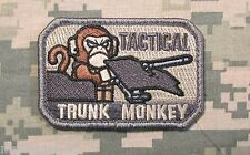 FLYING TRUNK MONKEY USA ARMY US MILITARY ISAF ACU LIGHT HOOK & LOOP PATCH