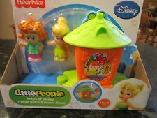 Fisher Price Little People NEW Disney Fence Magic Kingdom Tinker Bell Tinkerbell