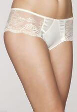 SIMONE PERELE QUEEN Shorty 14 Aust - 3 Int'l M-L  Natural Ivory Satin/lace Rp$50