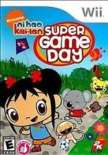 Ni Hao, Kai-Lan: Super Game Day - Nintendo Wii 2K Games Video Game