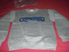 vintage TRACKER Skateboard Sweatshirt with Oval Logo NEW NOS old school sz SMALL