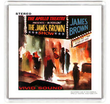 JAMES BROWN AT THE APOLLO 1963 LP COVER FRIDGE MAGNET IMAN NEVERA