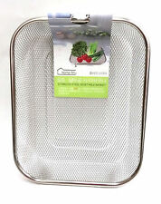Stainless Steel Mesh Sifting Sifter Vegetable Sieve Colander Basket Drainer 9""