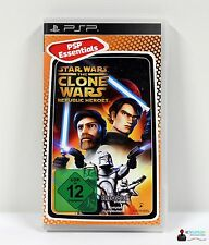 ★ Playstation Portable PSP Spiel - STAR WARS THE CLONE WARS REPUBLIC HEROES ★