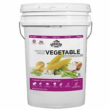 Augason Farms Freeze Dried Vegetable Variety Pack - 4 lb. NEW