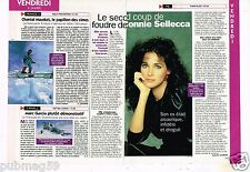 Coupure de Presse Clipping 1997 (1 page 1/3) Connie Sellecca