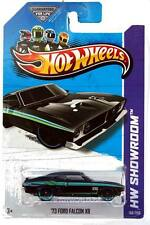 2013 Hot Wheels #198 HW Showroom HW Garage '73 Ford Falcon XB black