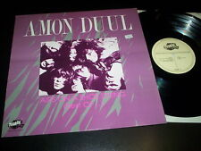 "Amon Duul ""Airs On A Shoe String (Best Of)"" LP Thunderbolt ‎– THBL 043 - UK 1987"