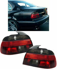 CRYSTAL SMOKED REAR LIGHTS FOR BMW E39 5 SERIES 11/95 - 8/00 NICE ITEM V3