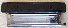 REFURBISHED Hohner 64 Chromonica 280 Chromatic Harmonica key of C (#325A)