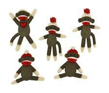 Sock Monkeys Novelty Buttons Jesse James Theme Pack