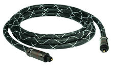 SunshineTronic BlackLine Professinal Optisches Kabel | Toslink | SPDIF | 2m