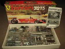 FERRARI 312 T5 MOD 166 MODEL KIT 1:12 Scale PROTAR ITALY NEW ALL PARTS w/DECALS