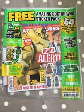 Dr Doctor Who Adventures Magazine Issue 191 - Brand New In Bag - Free Postage