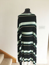 Op Art 60's Style Geometric Stripe Print Stretch Jersey Dressmaking Fabric