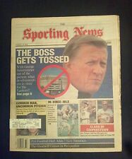 August 13 1990 The Sporting News  George Steinbrenner  Banned From Baseball