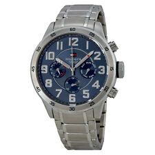 Tommy Hilfiger Blue Dial Stainless Steel Mens Watch 1791053