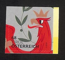 """3309 Österreich 2017 Heraldik """" Tirol 68 cent"""" sk   **"""