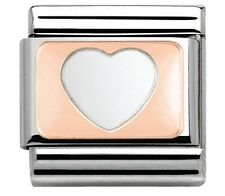 nomination charm Rose Gold Heart RRP £15