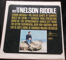 NELSON RIDDLE The Best Of Nelson Riddle LP Route 66 Theme