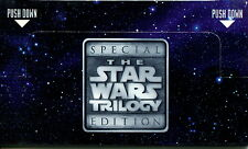 STAR WARS TRILOGY SPECIAL EDITION TARGET STORES POP UP PROMO CARD DOUBLE-SIDED