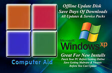 Windows XP 32 Bit Update Disk - Includes All Service Packs & All Updates DVD