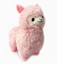 CLEARANCE SALE - LARGE 37cm Tall Kawaii Alpaca Llama Plush Pastel Pink Cute