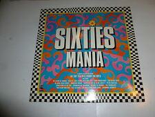 Sixties Mania - 1986 UK 40-track double vinyl LP compilation