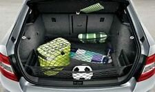 Skoda Octavia Estate (A7) Luggage Nets - Black (5E0017700A)